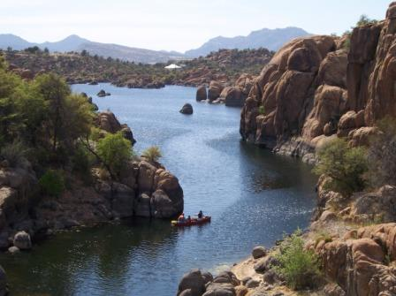 Explore the scenic Granite Dells by canoe, kayak, hiking or biking the ...
